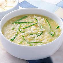 玉米须荷叶粥
