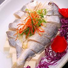 豆腐蒸黄鱼