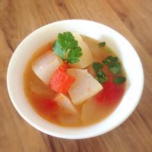 西红柿雪梨汤