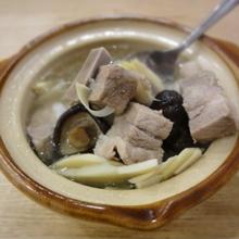 香菇冬笋排骨汤