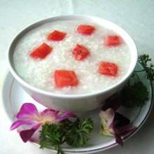 西瓜糯米粥