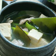 味噌海带汤