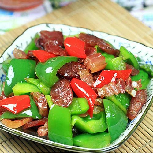 辣椒炒腊肉