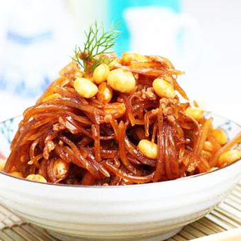 黄豆肉末炒咸菜
