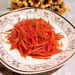拌红萝卜丝