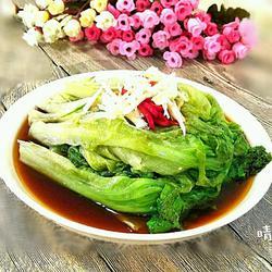 蒜蓉蚝油炝生菜