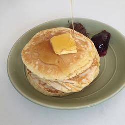 Fluffy,Pancake,蓬松西式煎饼