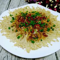 蒜蓉蚝油蒸金针菇