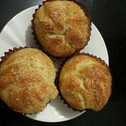 淡奶油手撕椰蓉小面包