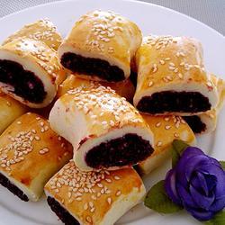 紫薯椰蓉酥