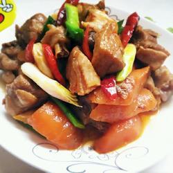 鸭肉焖胡萝卜