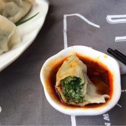 茴香苗素水饺