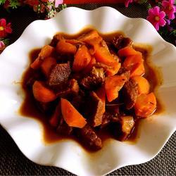 红萝卜炖牛肉
