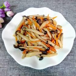 素炒蟹味菇