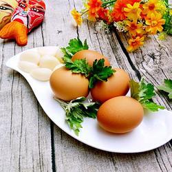 ,端午艾叶煮鸡蛋