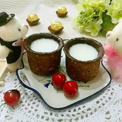 巧克力燕麦曲奇杯