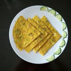 燕麦片鸡蛋饼