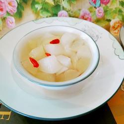 冰糖白萝卜雪梨汤
