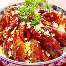 蒜泥小龙虾